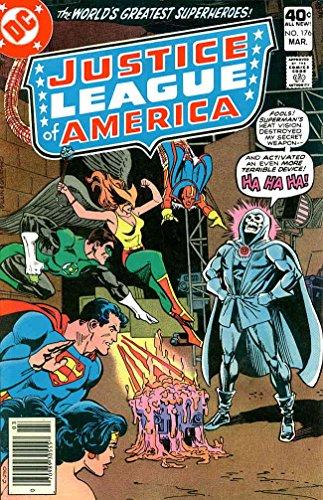 Justice League of America #176 VF ; DC comic book ()