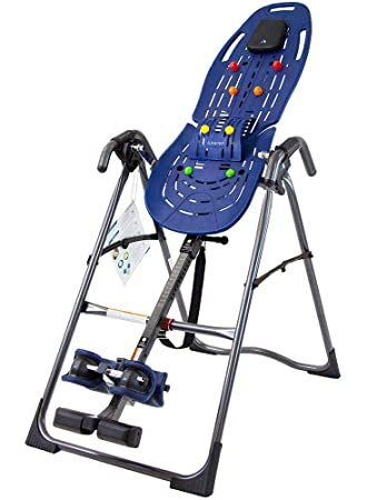Teeter EP-560 Inversion Table for back pain relief, 3rd-Party Safety Certified with Precision Engineering