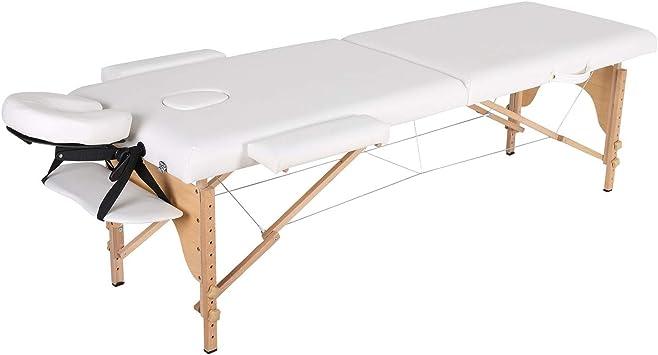 Camillas masajes plegables Mesa de masaje plegable profesional ...