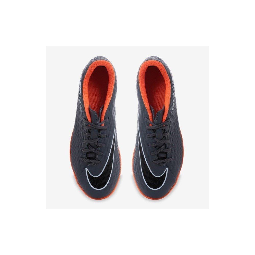 026de67e0 Amazon.com: Nike Jr. Hypervenom PhantomX 3 Club (IC) Indoor-Competition  Football Boot - Dark Grey: Sports & Outdoors