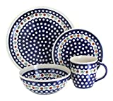 Polish Pottery Nature 16 Piece Dinner Set
