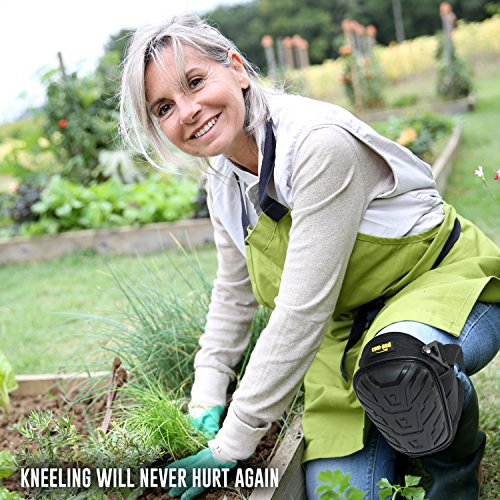 Superior Gel Knee Pads For Work - Foam Padding Gardening/Construction Knee Pads - Extremly Comfortable Kneepads To Save Your Knees by COM-PAD (Image #3)