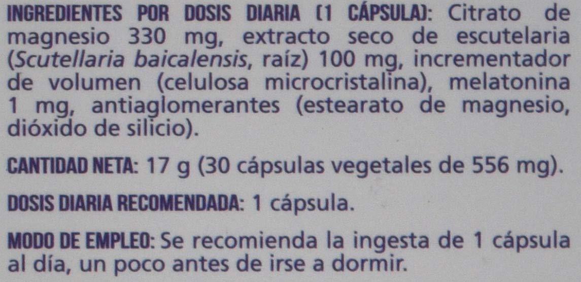 Naturlíder Melatolíder - Complemento Alimenticio con Melatonina 1mg, Escutelaria y Magnesio.: Amazon.es: Salud y cuidado personal