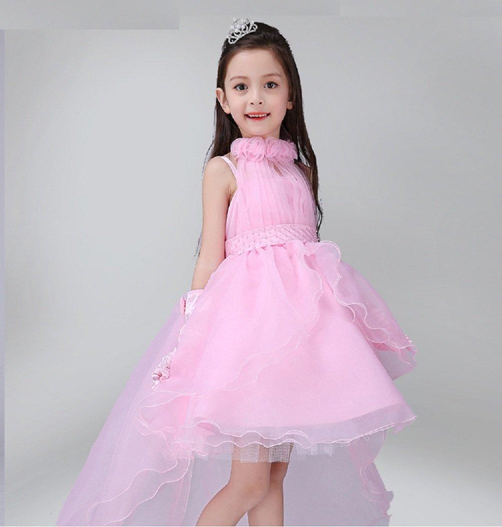 Niñas Vestido de Novia - Little Vestido de Novia Traje de la Boda ...