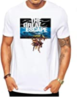 The Great Escape Movie/DVD Men's Fashion Quality Heavyweight T-Shirt.