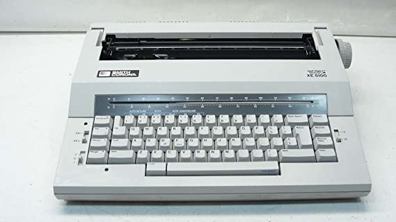 Smith Corona - hechizo derecho I diccionario XE 5100 eléctrica máquina de escribir: Amazon.es: Electrónica