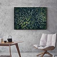XIAOXINYUAN Forest Lienzos De Pared Pared Pintura Arte Fotografía Carteles De Salón Decoracion 20X25Cm Sin Marco