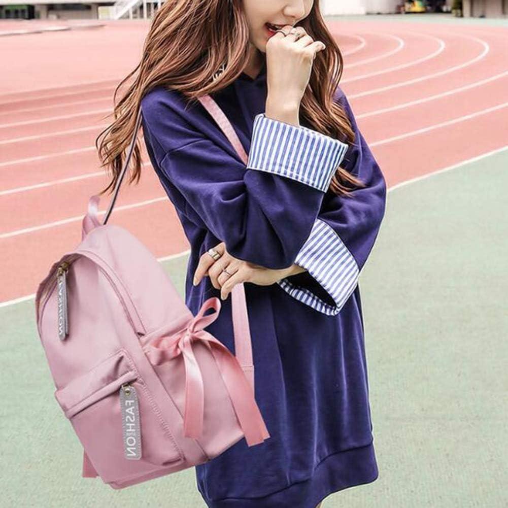 Female Light Tide Small Backpack Student Campus Large-Capacity School Bag ZHML Color : Pink, Size : L Backpack Leisure Bag Travel Bag Handbag Shoulder Bags Crossbody Bag