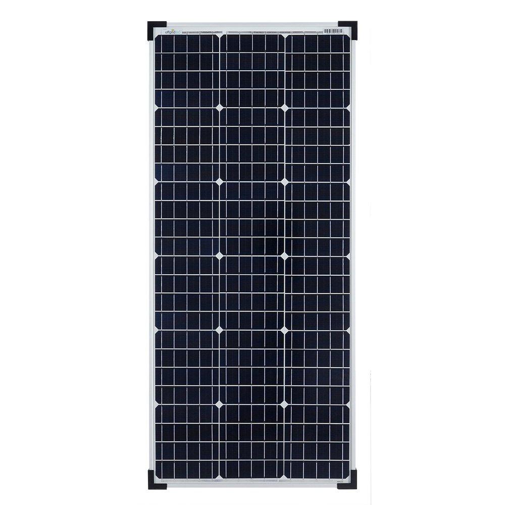 Offgridtec 100/W 36/V Monocrystalline Solar Panel Ideal for 12/V and 24/V Battery Charging