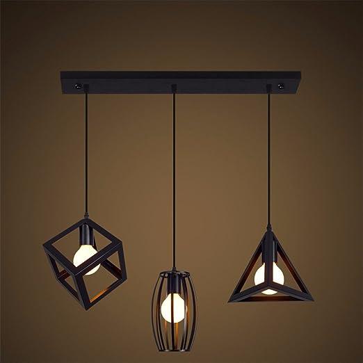 Leihongthebox Loft luce pendente Vintage lampadario di attrezzatura ...