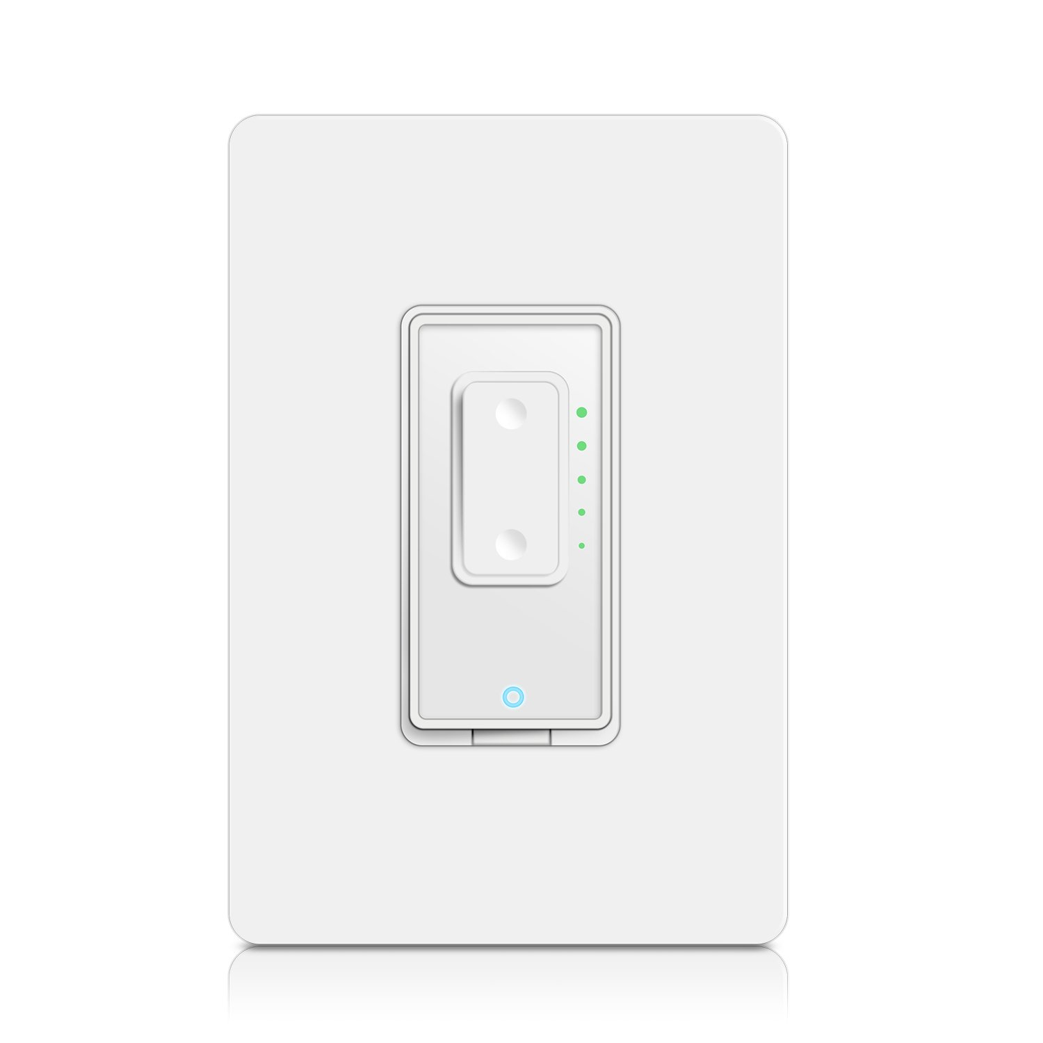 Smart Dimmer Switch by Martin Jerry | SmartLife App, Mains Dimming ONLY, Compatible with Alexa as WiFi Light Switch Dimmer, Single Pole, Works with Google Assistant [For Sale NOW]