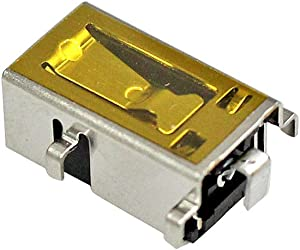 Zahara DC Power Jack Charging Port Socket Plug Replacement for Lenovo Ideapad 130-15AST Laptop 81H5000NUS 330-15IGM 330-15IKB 330-17IKB 510-15IKB 530-14IKB