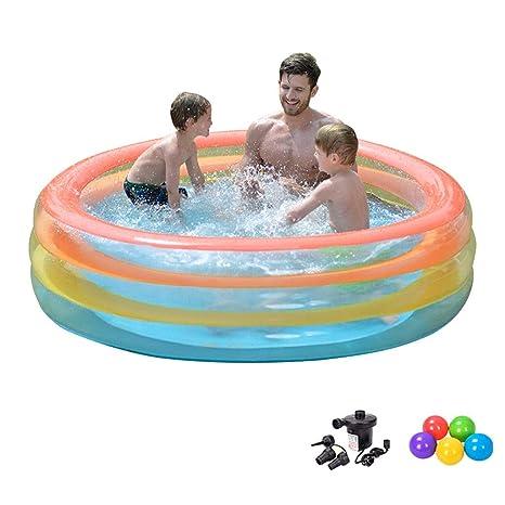 LYM & bañera Plegable Niños Piscina para niños, niños Jardín ...