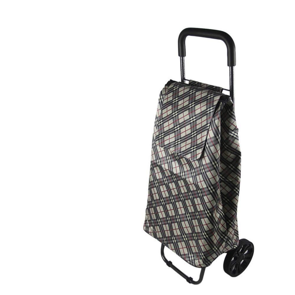 MAFYU Älteren Tragbaren Wagen, Zu Hause Einkaufen Warenkorb 96 * 36 * 33 Cm