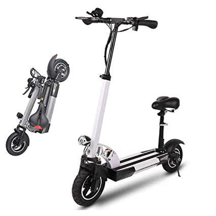 SSCJ Vespa eléctrica, Bicicleta eléctrica Plegable del ...