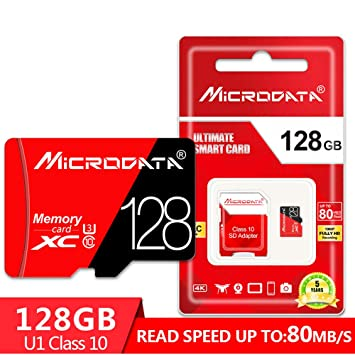 BAIYI Tarjeta SD de Alta Velocidad Class10 16/32 / 64/128/256 GB ...