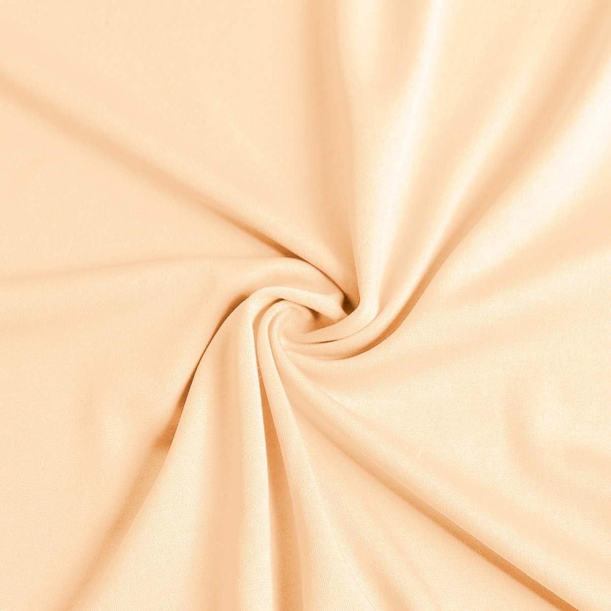 poli/éster Medium caf/é VOSAREA Fundas el/ásticas para Silla de Oficina Color Blanco Fundas Protectoras extra/íbles y Lavables para Asiento de Silla