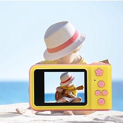 Cosiki Mini Regalo de Juguete de Video de cámara de 8MP para niños Lindos Digitales de Dibujos Animados para niños niñas, Lindo(Rosado): Electrónica