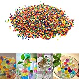 Arich Water Beads Rainbow Mix, 4 oz (10,000 beads) Water Beads Bullet Ball Crystal Soil, for Water Pistol Gun Toy Bottle Decor