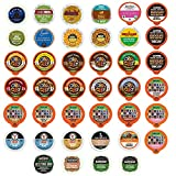 Custom Variety Pack Decaf Coffee Single Serve Cups For Keurig K Cup Brewers – 40 Count