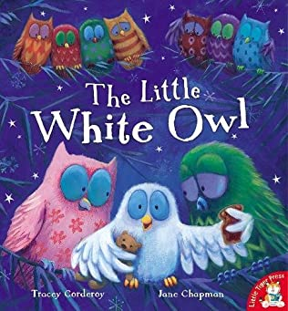 book cover of The Little White Owl