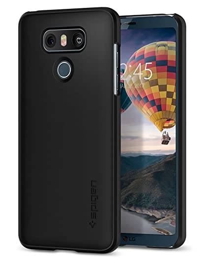 Spigen Thin Fit Designed for LG G6 Case (2017) / Designed for G6 Plus Case (2017) - Black