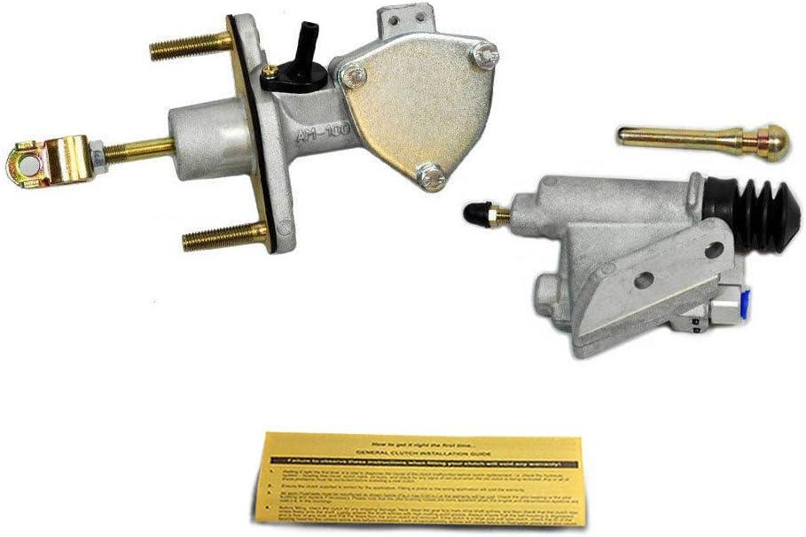 EFT HD CLUTCH MASTER SLAVE CYLINDER KIT TSX RSX ACCORD CIVIC Si ELEMENT K20 K24
