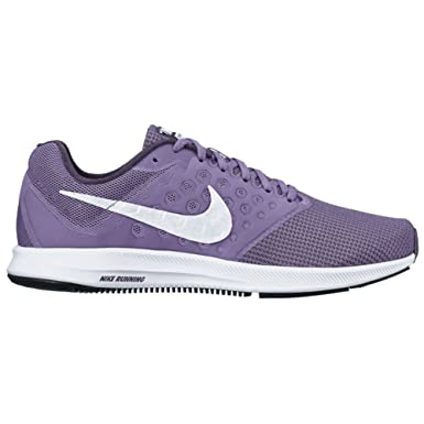 Nike Womens Downshifter 7 Running Shoe Purple Earth/White/Dark Raisin/Black Size 9 M US