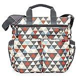 Skip Hop Duo Signature Diaper Bag, Triangles