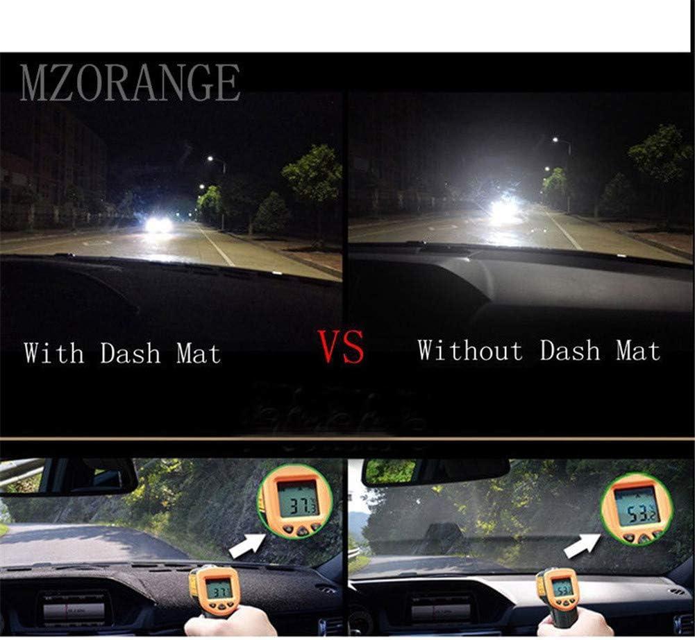 Black Side MZORANGE Dashboard Cover For Kia Optima K5 2016 2017 2018 2019 Non-slip Dash Mat Sun Dash Cover Protector Sun Cover Pad Anti-UV Carpet