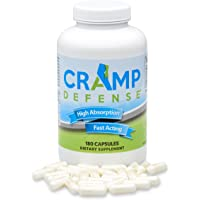 Cramp Defense® Magnesium for Leg Cramps, Muscle Cramps & Muscle Spasms. End Them Fast and Permanently. Organic Magnesium…