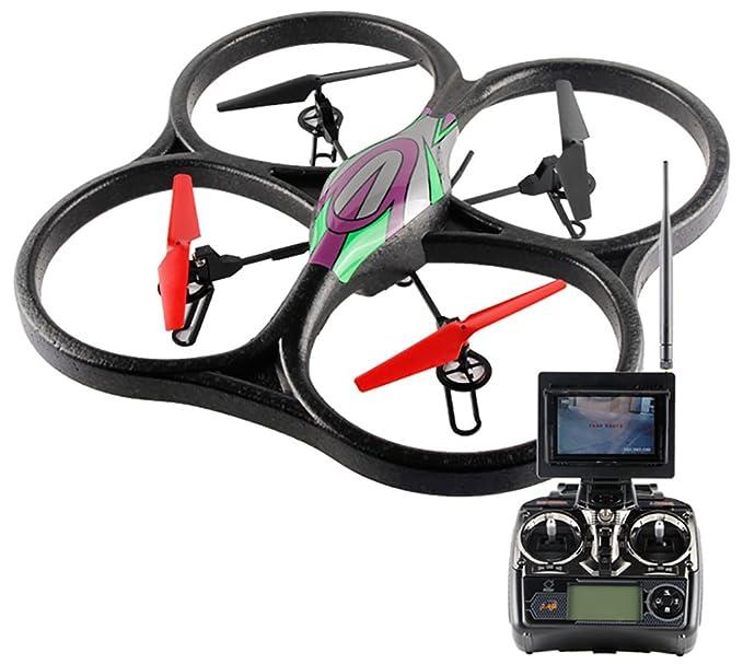 Drone FPV Wltoys V666N   Cámara HD   Control de Altura ...