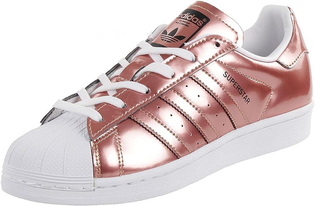adidas Superstar W Damen Sommersneaker Schuhe Metallic