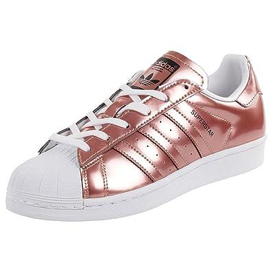 coupon code sleek good selling adidas Superstar W Damen Sommersneaker Schuhe Metallic ...