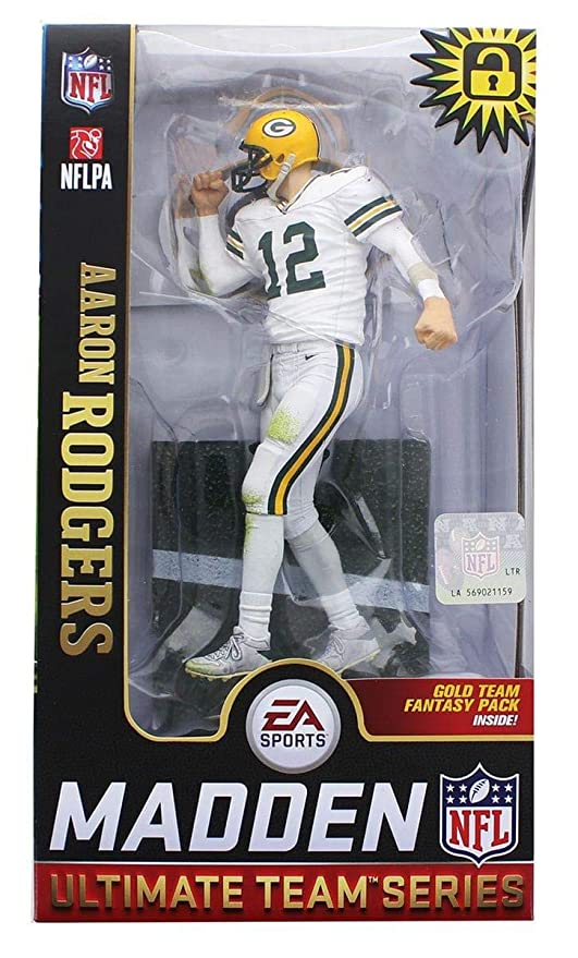 Amazon.com   McFarlane Aaron Rodgers (Green Bay Packers) EA Sports ... 58fceba8c