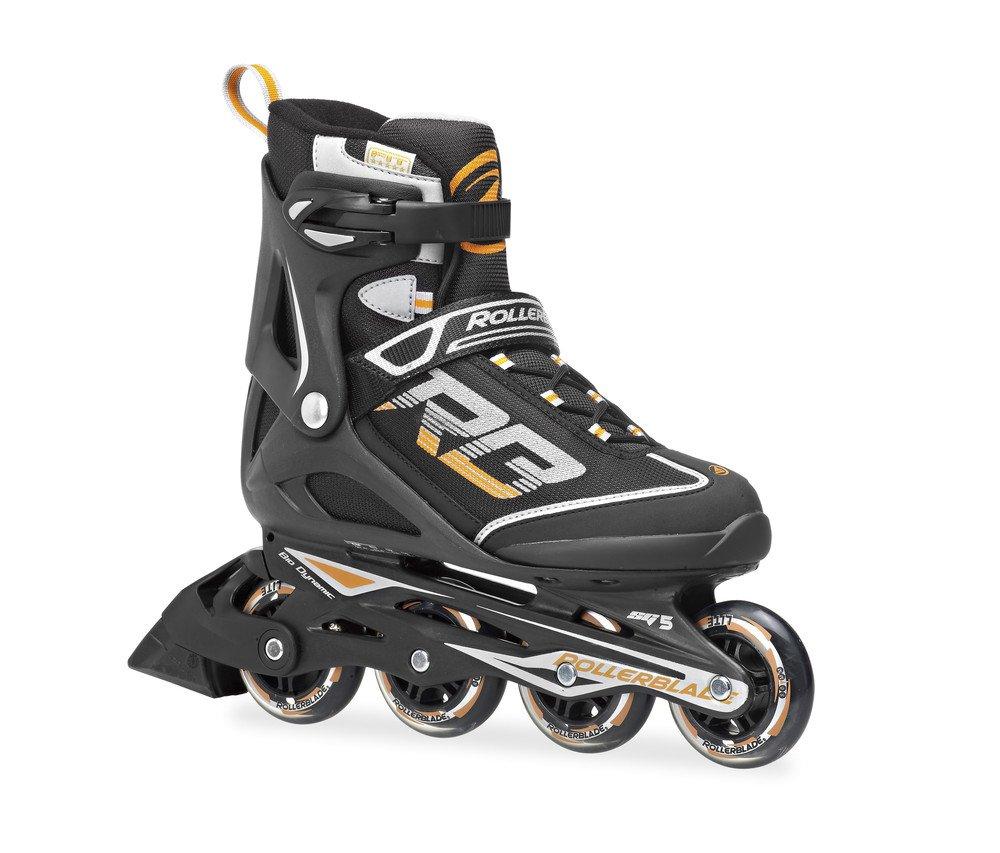 Rollerblade Men's Zetrablade 14 Skates, Black, 11 by Rollerblade