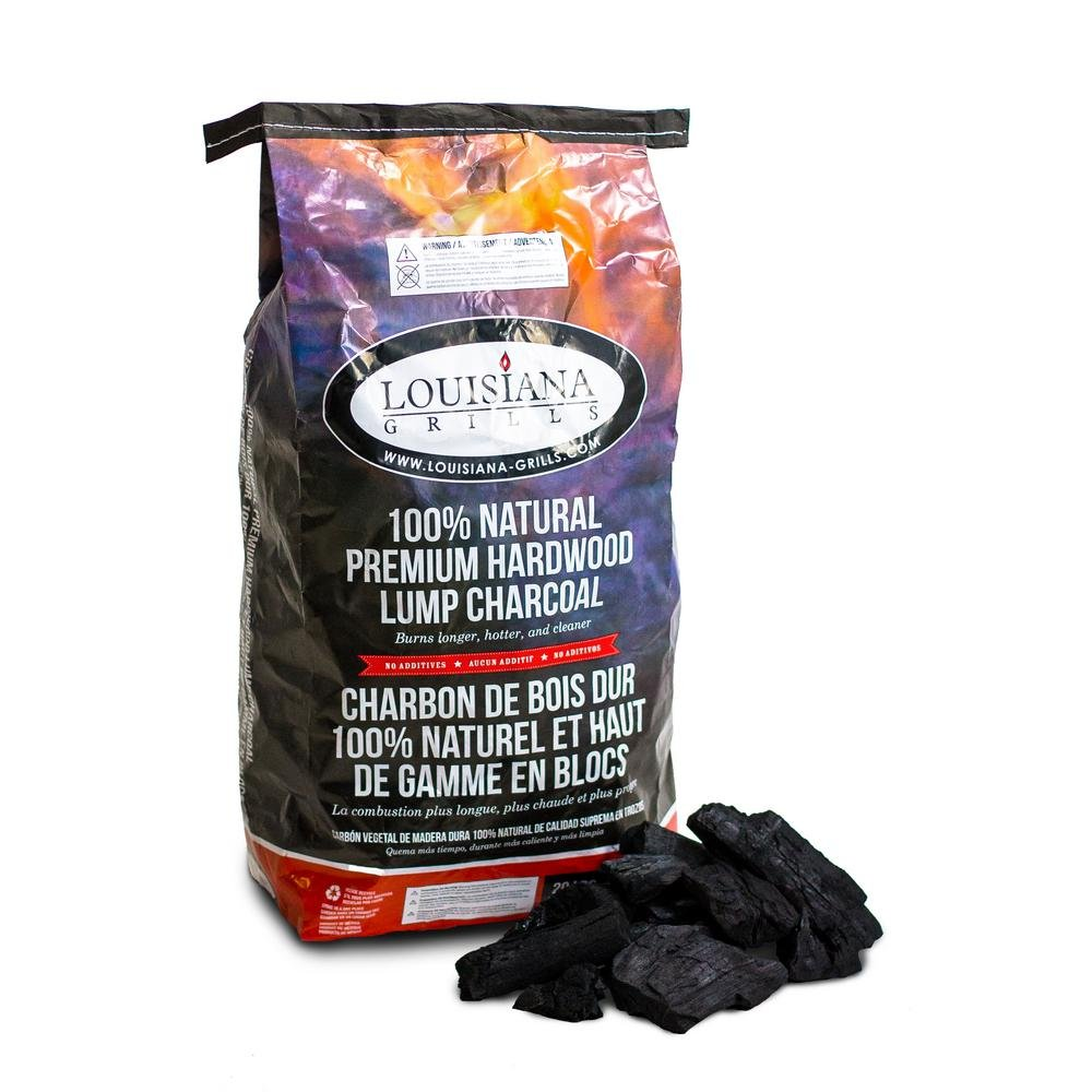 20 lb. Louisiana Grills Premium Hardwood Lump Charcoal