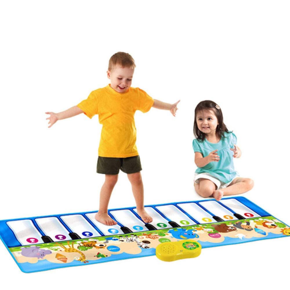 QXMEI Children's Music Piano Game Blanket Early Education Puzzle Parent-Child Toy Dance Mat