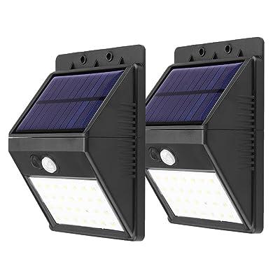 Lampe Solaire LED Imperméable avec Détecteur de Mouvement, 3 en 1 ...