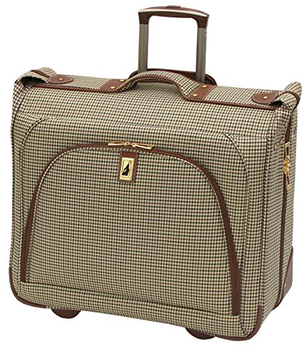 London Fog Cambridge 44 Inch Wheeled Garment Bag, Olive by London Fog