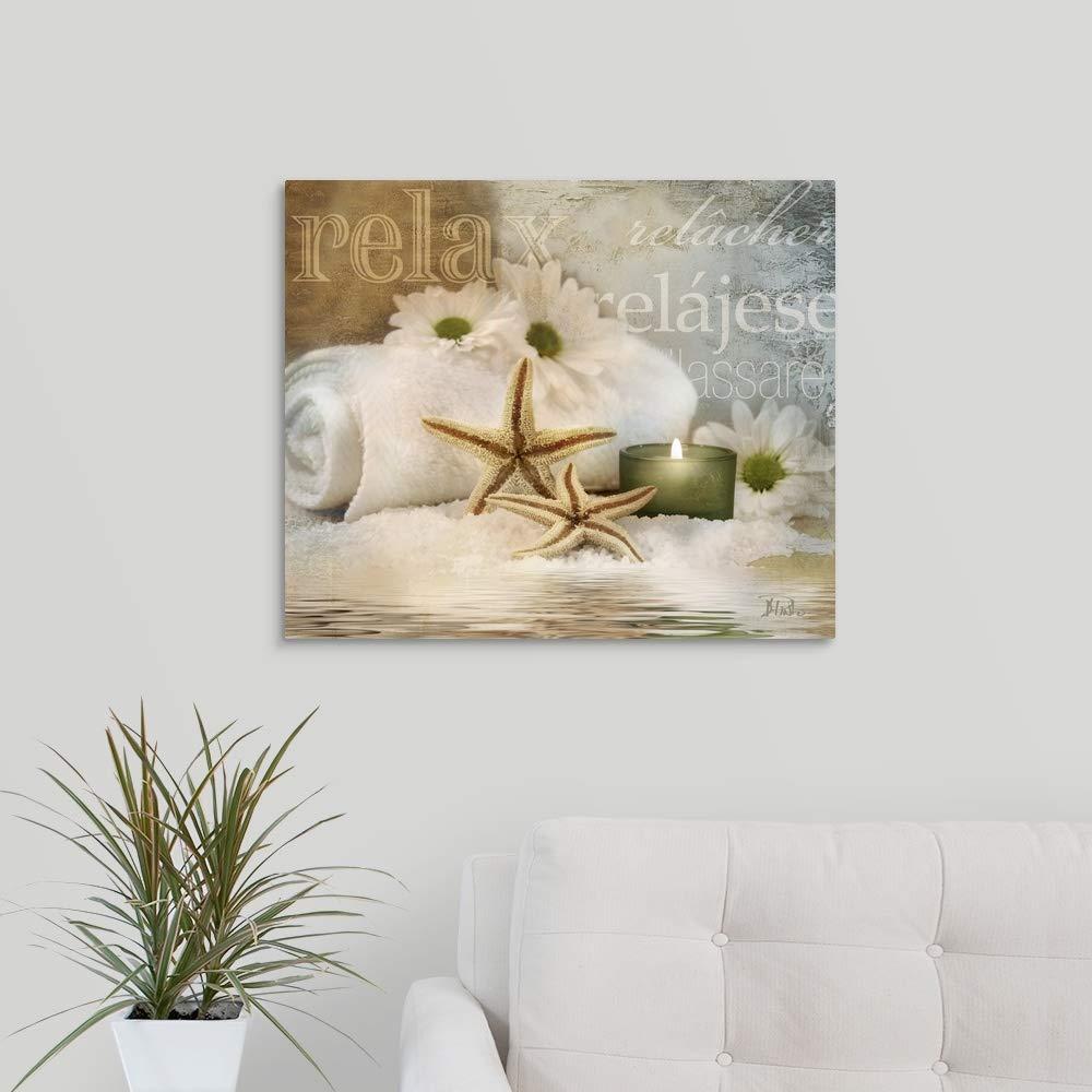 Relaxation II Canvas Wall Art Print, 24 x20 x1.25