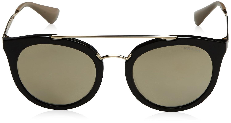 f4c44fb4b2 Amazon.com  Prada Women s Round Aviator Sunglasses