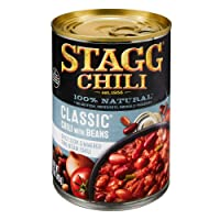 12 Pack Stagg Classic Chili with Beans, 15 oz Deals