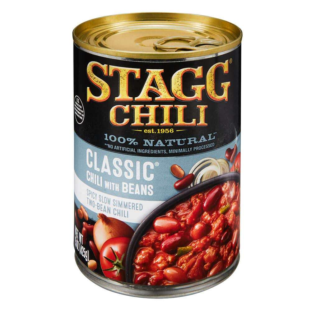 Stagg Classic Chili with Beans, 15 oz, Pack of 12