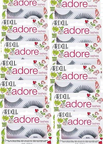 2ddd0e798fa Amazon.com : Adrell Adore Fashion Lashes Bella 12 Sets : Beauty