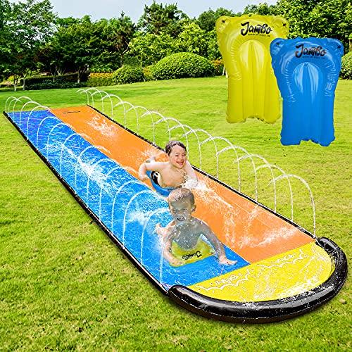 Deslizador doble de agua 6 metros