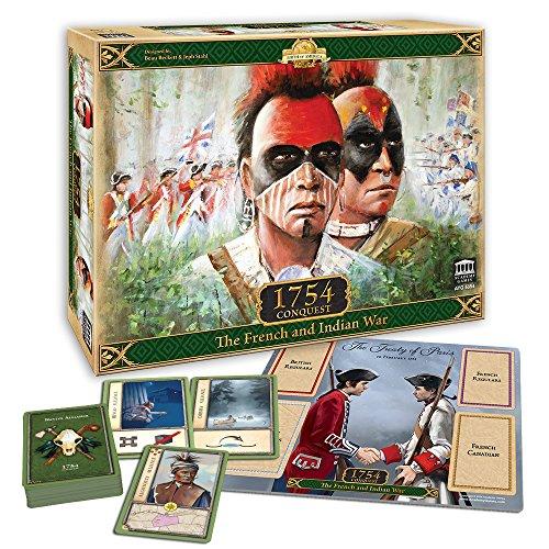 [해외]아카데미 게임 1754 정복-프랑스와 인도 전쟁 확장 에디션 / Academy Games 1754 Conquest - The French and Indian War Expanded Edition