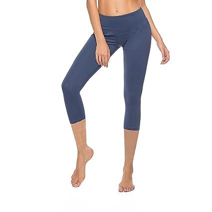 0f32cdfac1d CLOZZ.U Womens Workout Pants Yoga Pants High Waisted Workout Leggings w  Pockets