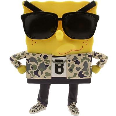 BAIT x Nickelodeon Spongebob Spongebob Squarepants 8 Inch Rockstar Figure SDCC Exclusive: Toys & Games