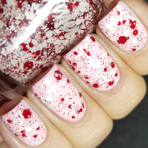 Candy Cane Crush - Scented Holiday Polish by KBShimmer -